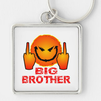 Screw The Federal Government Big Brother Keychain