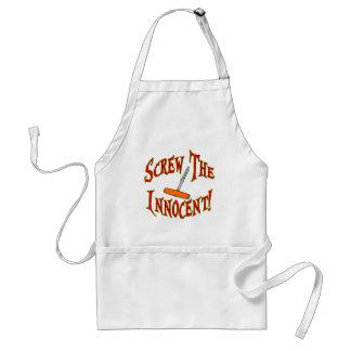 Screw The Innocent! Adult Apron