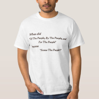 Screw The People T-Shirt