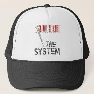 Screw the System Trucker Hat