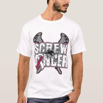 Screw Throat Cancer T-Shirt