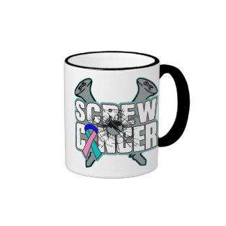 Screw Thyroid Cancer Ringer Mug