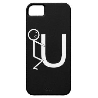 Screw U Funny Stick Figures iPhone 5 Covers