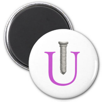 Screw U Magnet