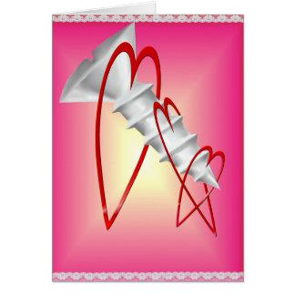 Screw Valentines Card
