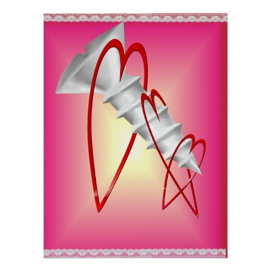 Screw Valentines Poster