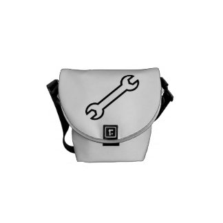 Screw wrench messenger bag