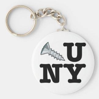 Screw You New York Keychain