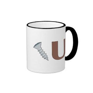 Screw You Ringer Coffee Mug