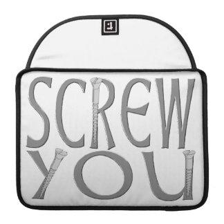 Screw You With Screws MacBook Pro Sleeve