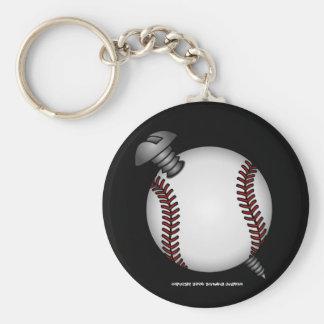 Screwball Keychain