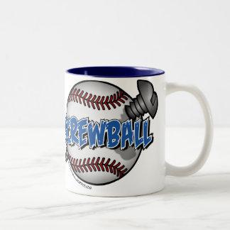 Screwball Two-Tone Coffee Mug