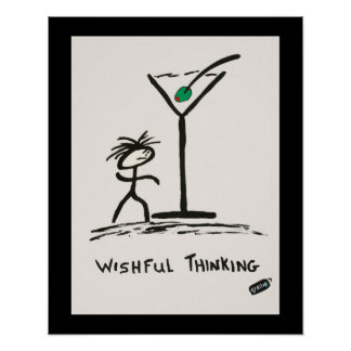 Screwballs™ Wishful Thinking Poster Art