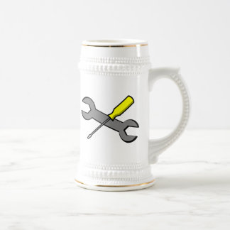 Screwdriver and Wrench Mug