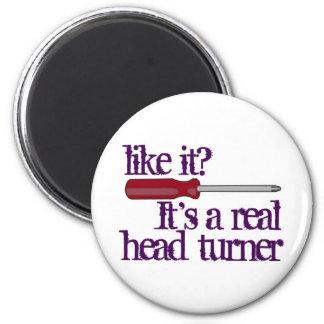 Screwdriver - head turner - funny image magnet
