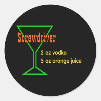 Screwdriver Stickers
