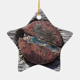 Screwed Ceramic Ornament