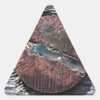 Screwed Triangle Sticker