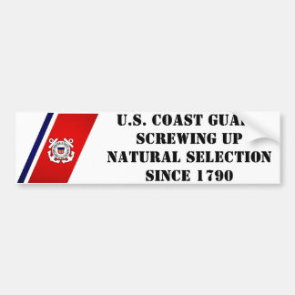 Screwing up natural selection bumper sticker