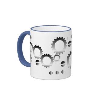 Screws and Gears-Mug Ringer Mug
