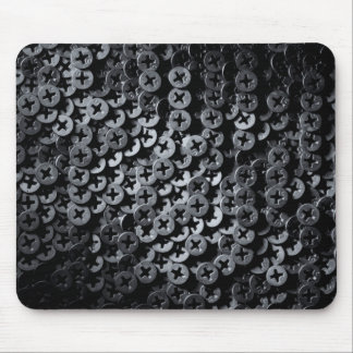 Screws for construction. mouse pad