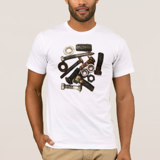 screws, nuts and bolts tshirt