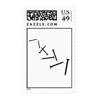 Screws Stamp