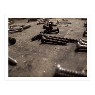 Screws Postcard