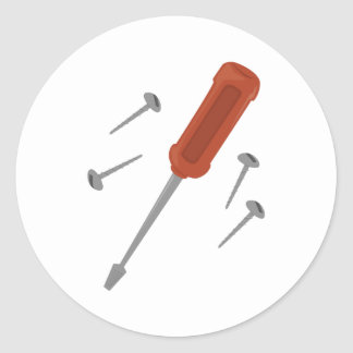 Screws & Screwdriver Stickers