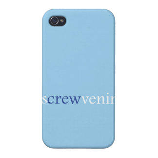 """Screwvenir"" Cover For iPhone 4"