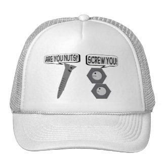 Screwy Nuts Trucker Hat