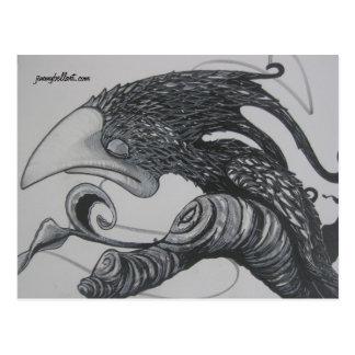 Scrib-Bird Post Card