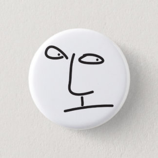 scribbbleface pinback button