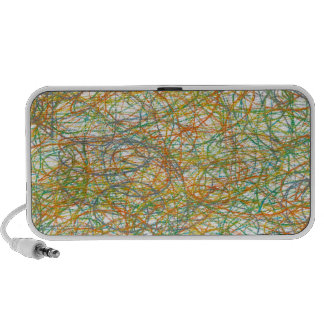 scribble art iPhone speakers