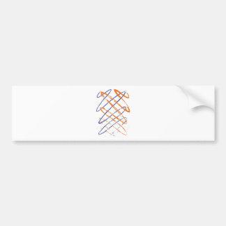 Scribble Bumper Sticker