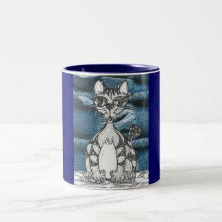 Scribble Cat 14 Mug