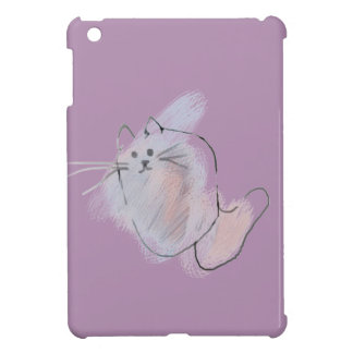 Scribble Cat Cover For The iPad Mini