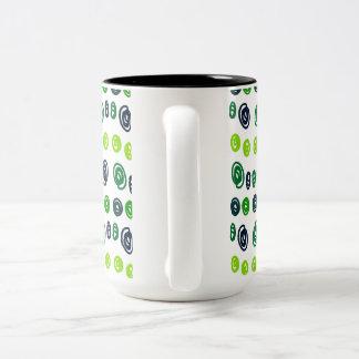 Scribble dots mugs