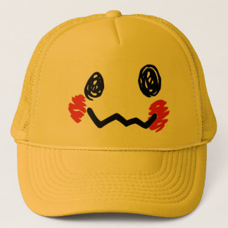 Scribble Face Hat