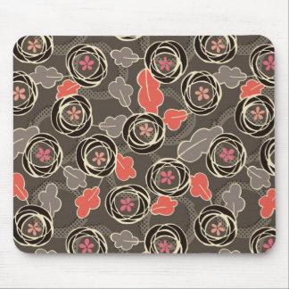 Scribble Floral Mousepad