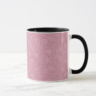 Scribble Flower Mug
