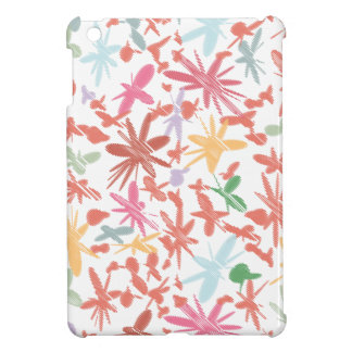 Scribble Flowers iPad Mini Covers
