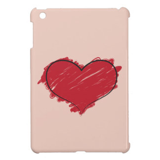 Scribble Heart Case For The iPad Mini