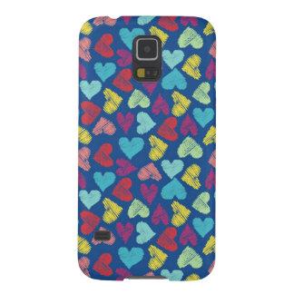 Scribble Heart Galaxy S5 Case