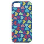 Scribble Heart iPhone 5 Capa