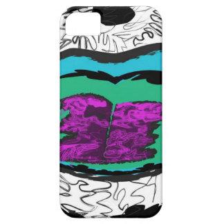 Scribble lips iPhone SE/5/5s case