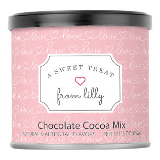 Drink Mixes - Scribble Love | Valentine's Day Hot Chocolate Drink Mix