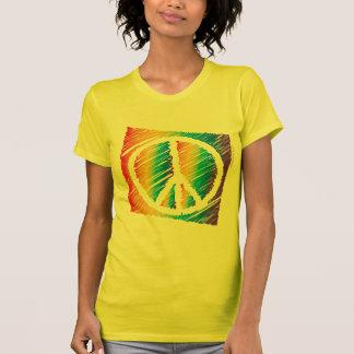 Scribble Peace Light Shirt