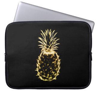 Scribble Pineapple Laptop Sleeve
