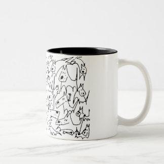 Scribble Puppy Mug